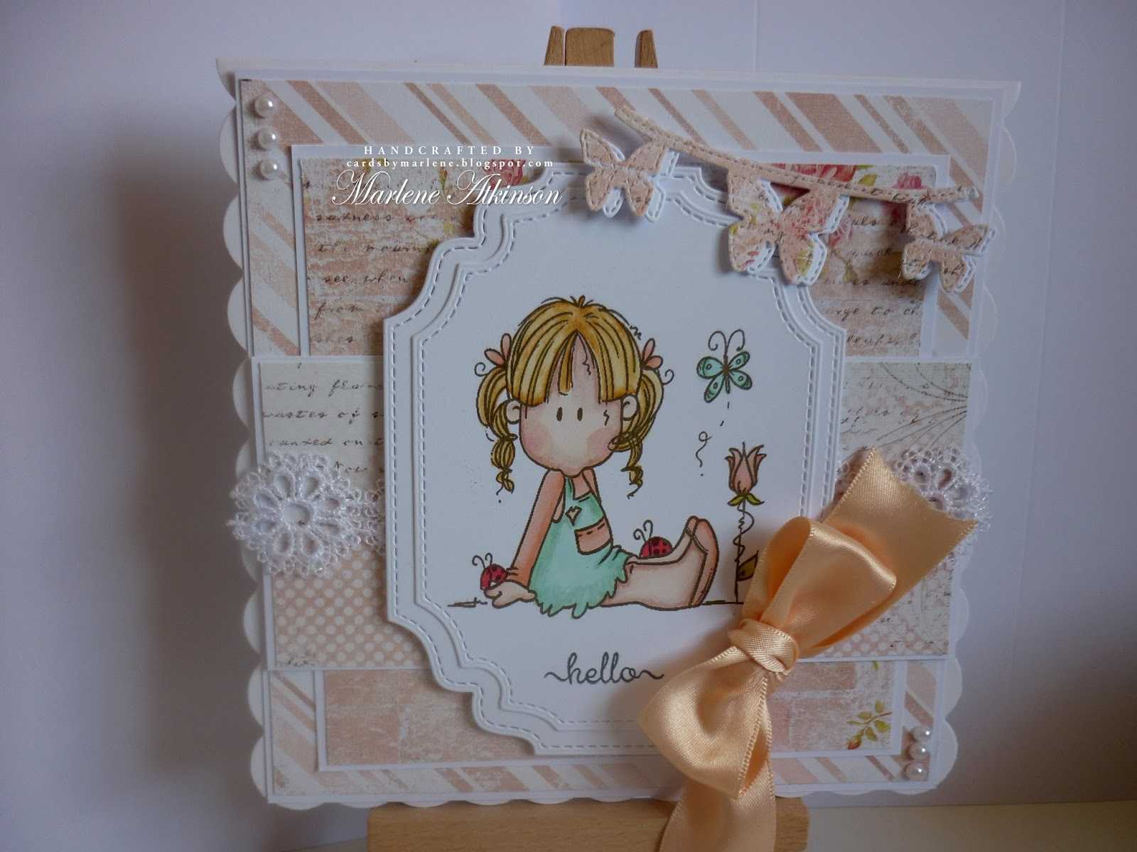 Good Afternoon My Lovely Crafting Friends