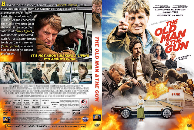 The Old Man & the Gun DVD Cover