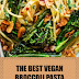 The Best Vegan Broccoli Pasta with Almond Bacon