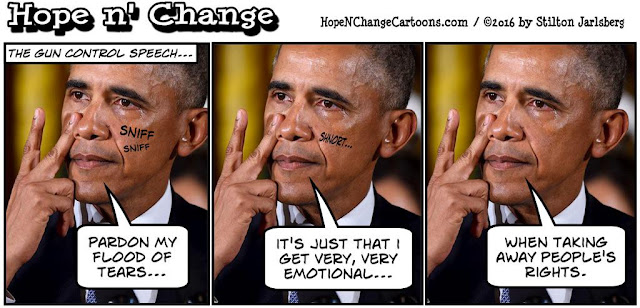 obama, obama jokes, political, humor, cartoon, conservative, hope n' change, hope and change, stilton jarlsberg, gun control, executive orders, iran