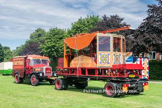 Carters Steam Fun Fair, Lichfield July 2017