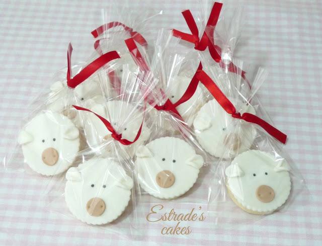 galletas de oveja con fondant 5
