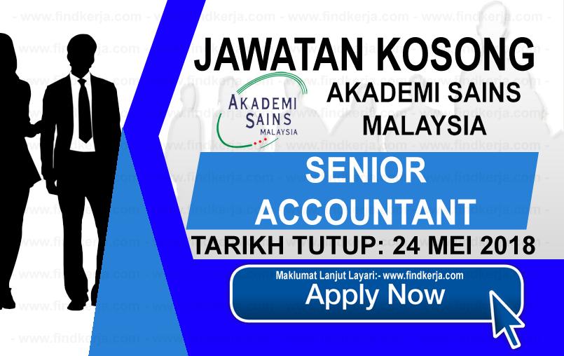 Jawatan Kerja Kosong ASM - Akademi Sains Malaysia logo www.findkerja.com mei 2018