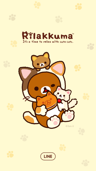 Rilakkuma Purrrfectly Relaxed