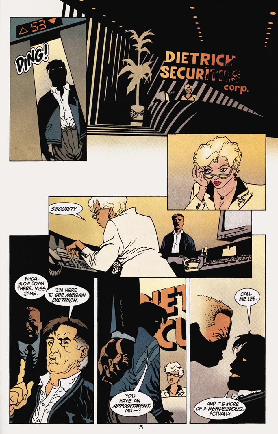 Read online 100 Bullets comic -  Issue #5 - 7