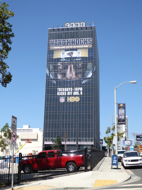 Giant Hard Knocks series premiere billboard