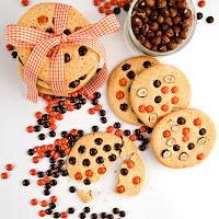ciasteczka z czekoladkami