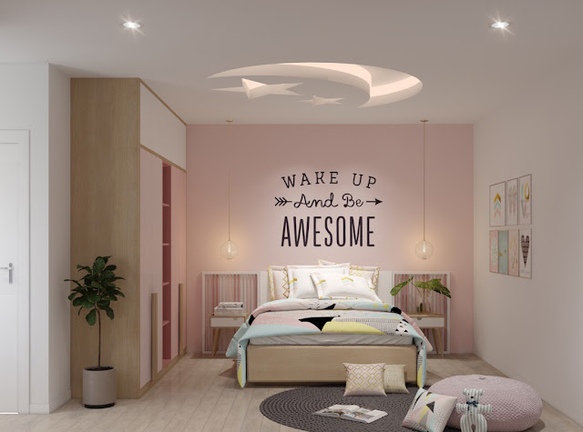 thiết kế nội thất bé yêu