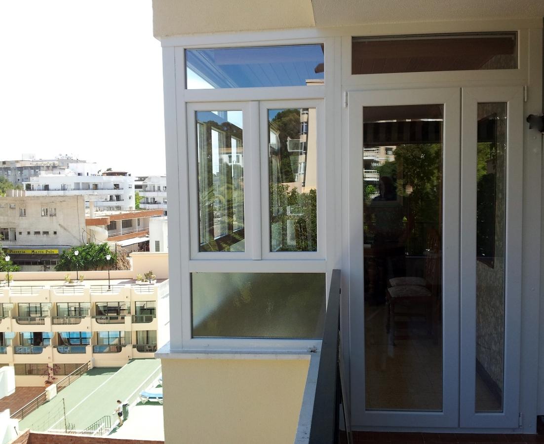 Puertas terraza aluminio affordable cerramiento de - Puerta terraza aluminio ...