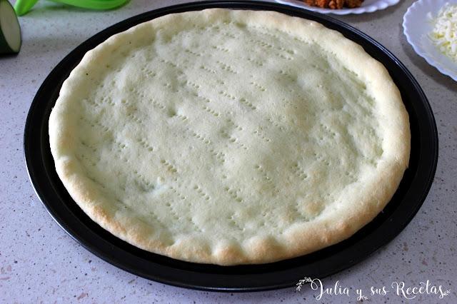 Masa de pizza sin gluten. Julia y sus recetas
