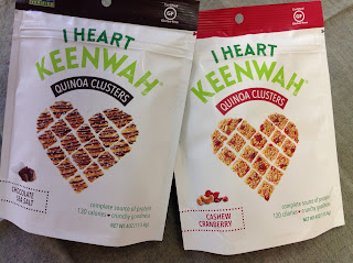 Quinoa Clusters … Snacks by I Heart Keenwah