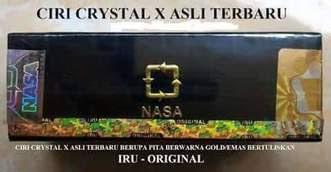 crystal x kemasan baru