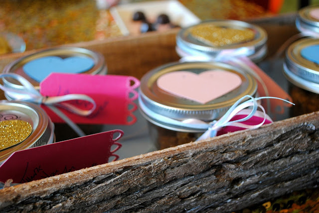 Galentine's Day sugar scrub party favors