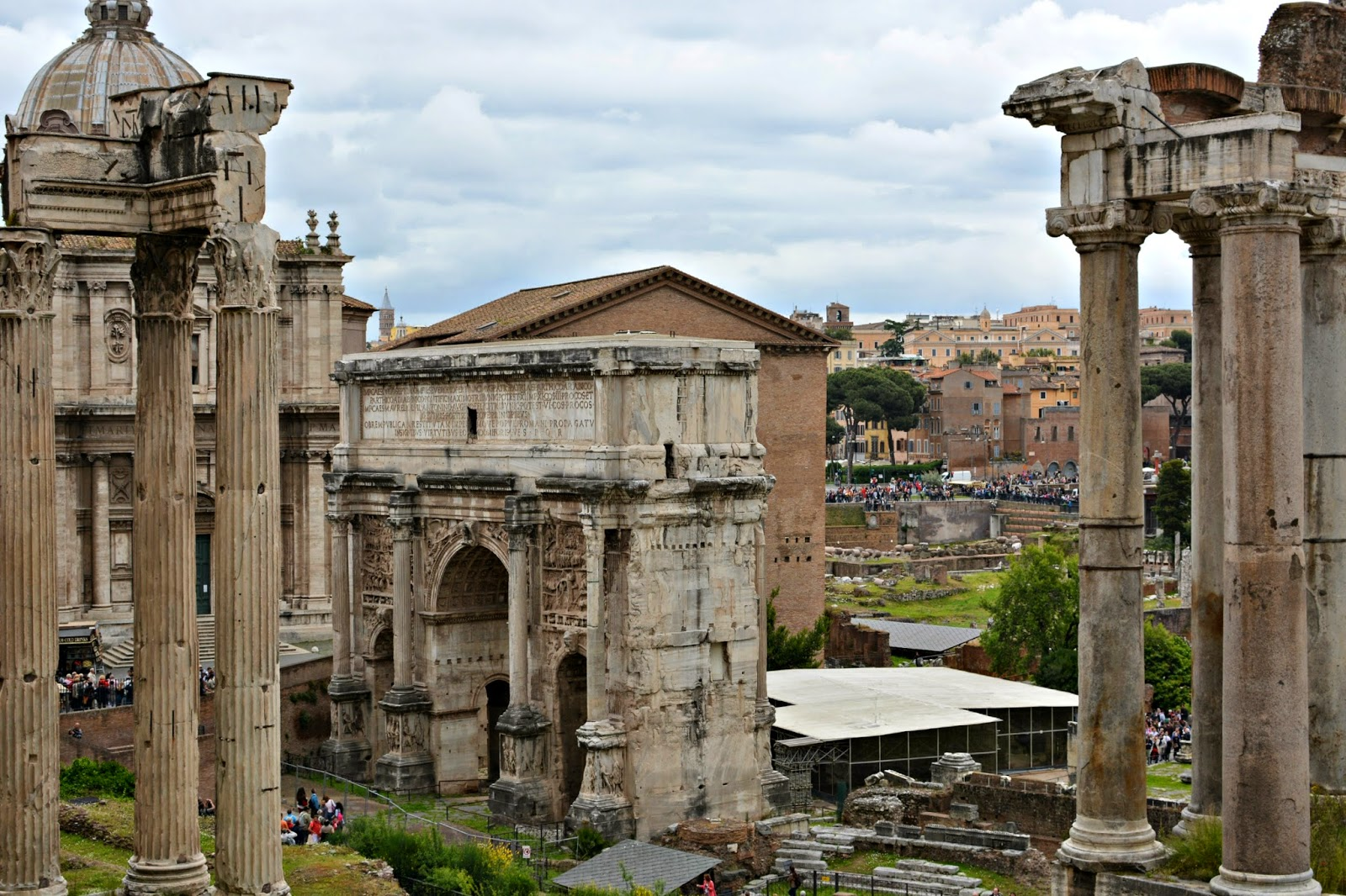 Palatine Hill Rome Italy