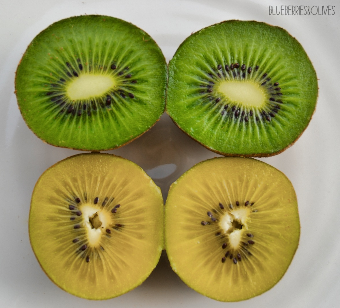 Kiwis - Smoorhies de kiwi con piruletas 2