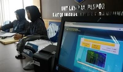 Kantor Imigrasi Bandung Terapkan Aplikasi SMS