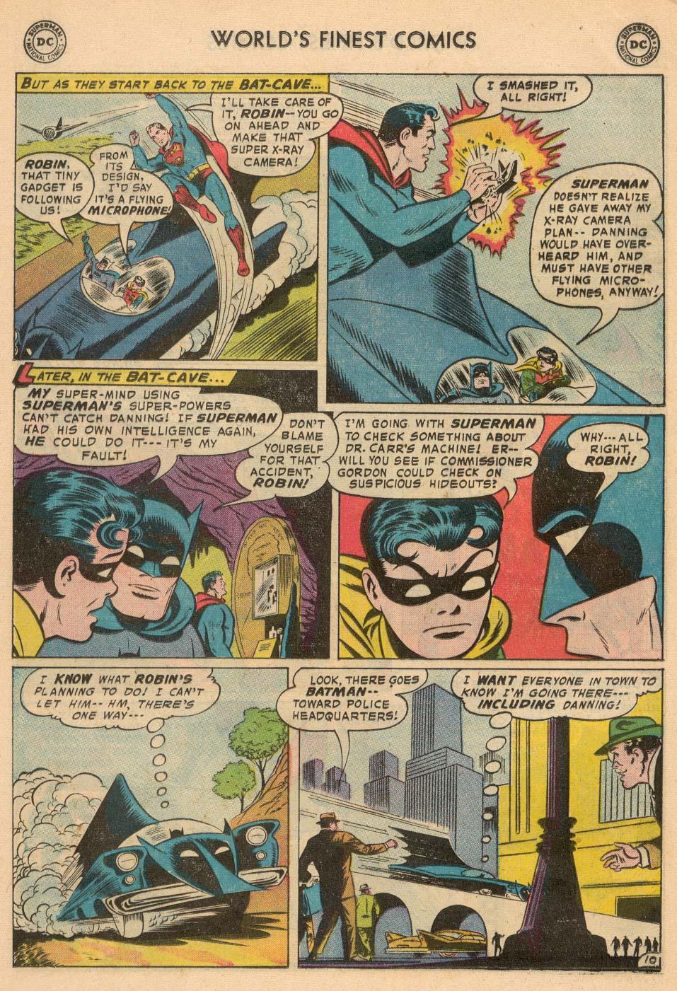 Read online World's Finest Comics comic -  Issue #93 - 12