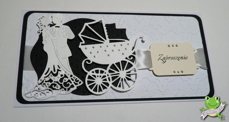 Zaproszenia Podwójne Na ślub I Chrzest Claoodia Art Handmade