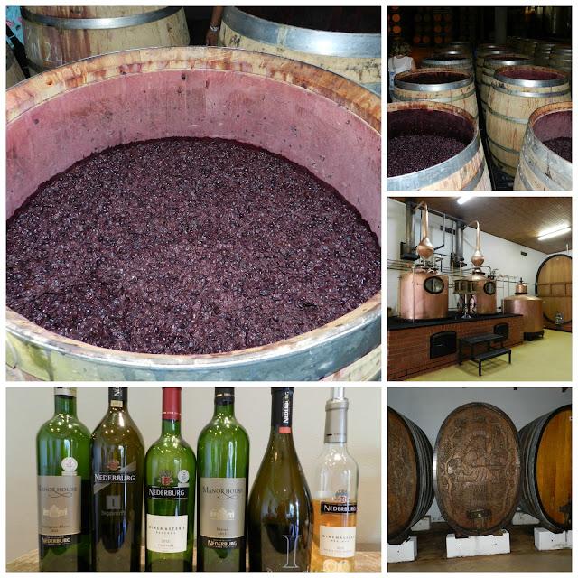 Degustação de vinho e almoço na vinícola Nederburg (em Paarl), África do Sul