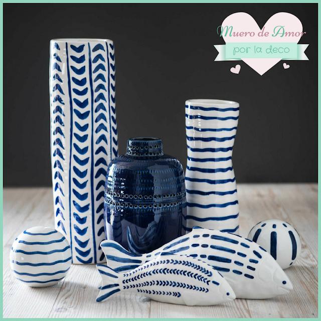 Jarrones Azules para Decorar tu Casa-Maisons Du Monde-By Ana Oval-9