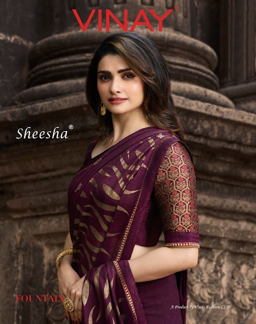Sheesha Fountain Vinay fashion Silk Georgette saree