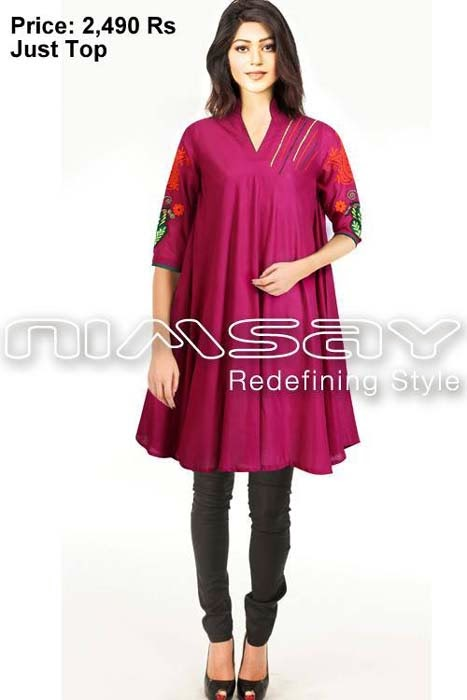 8c25a957f7a1 Nimsay Verve Ready To Wear Eid Collection 2013 For Women With Price ...