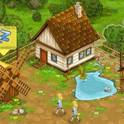 موقع لعبة المزرعة السعيدة
