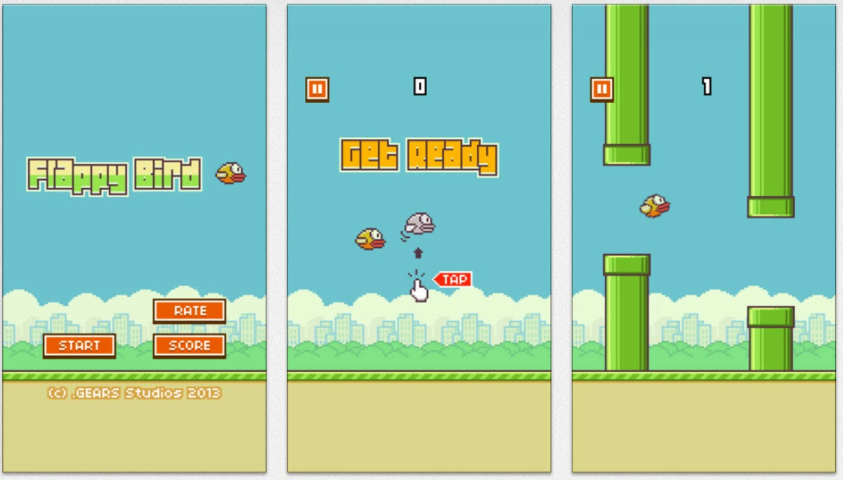 Flappy Bird 1.3 For Android