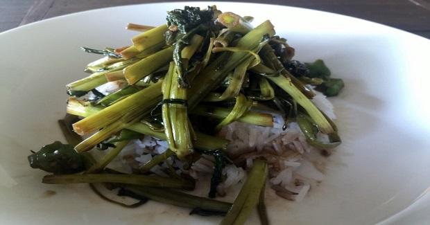 Water Spinach (kangkong) Adobo Recipe