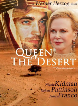 Poster Of English Movie Queen of the Desert 2015 300MB 720P BRRip Full Movie Free Download Watch Online At WorldFree4u.Com
