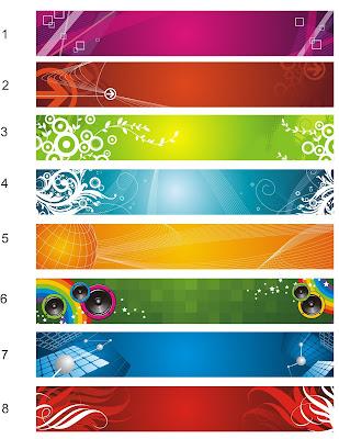 Template Banner Spanduk vektor format cdr
