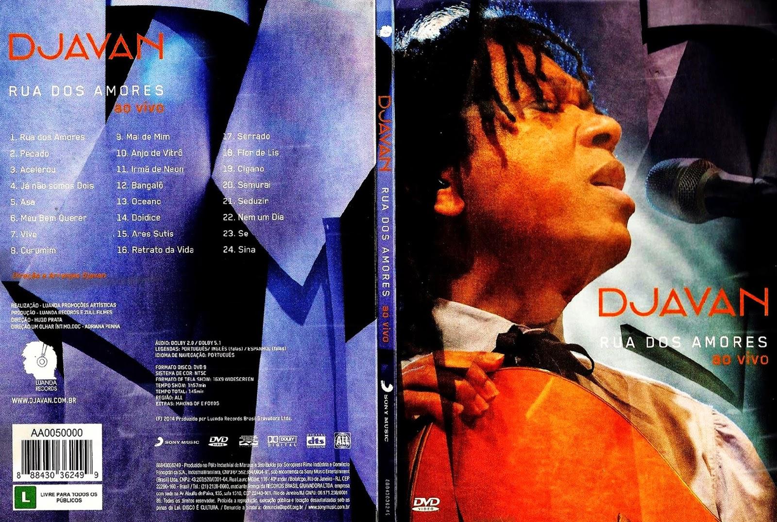 dvd do djavan ao vivo