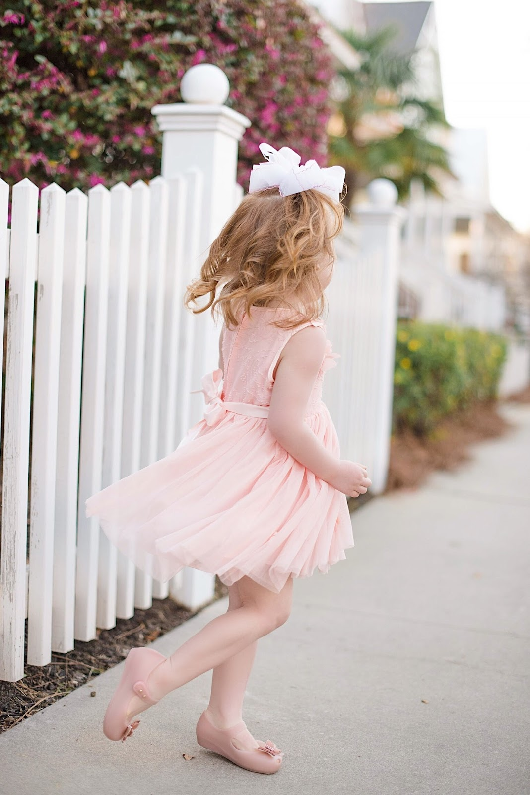Toddler Girls Butterfly Dress - Something Delightful Blog