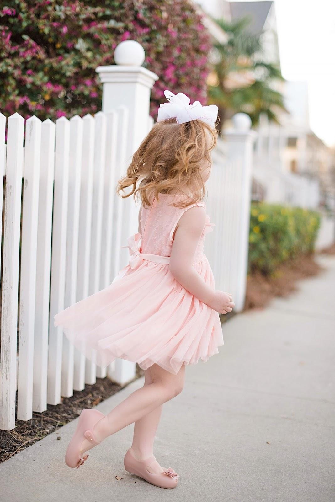 Toddler Girls Butterfly Dress - Something Delightful Blog