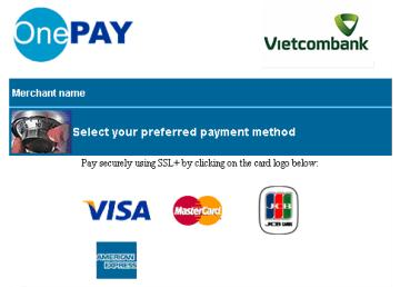 OnePay Payment Screen