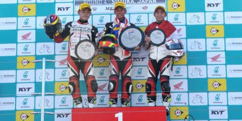 2 Pebalap Honda Indonesia Juara di Jepang
