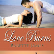 Review of Love Burns (The River #3) by Babette James