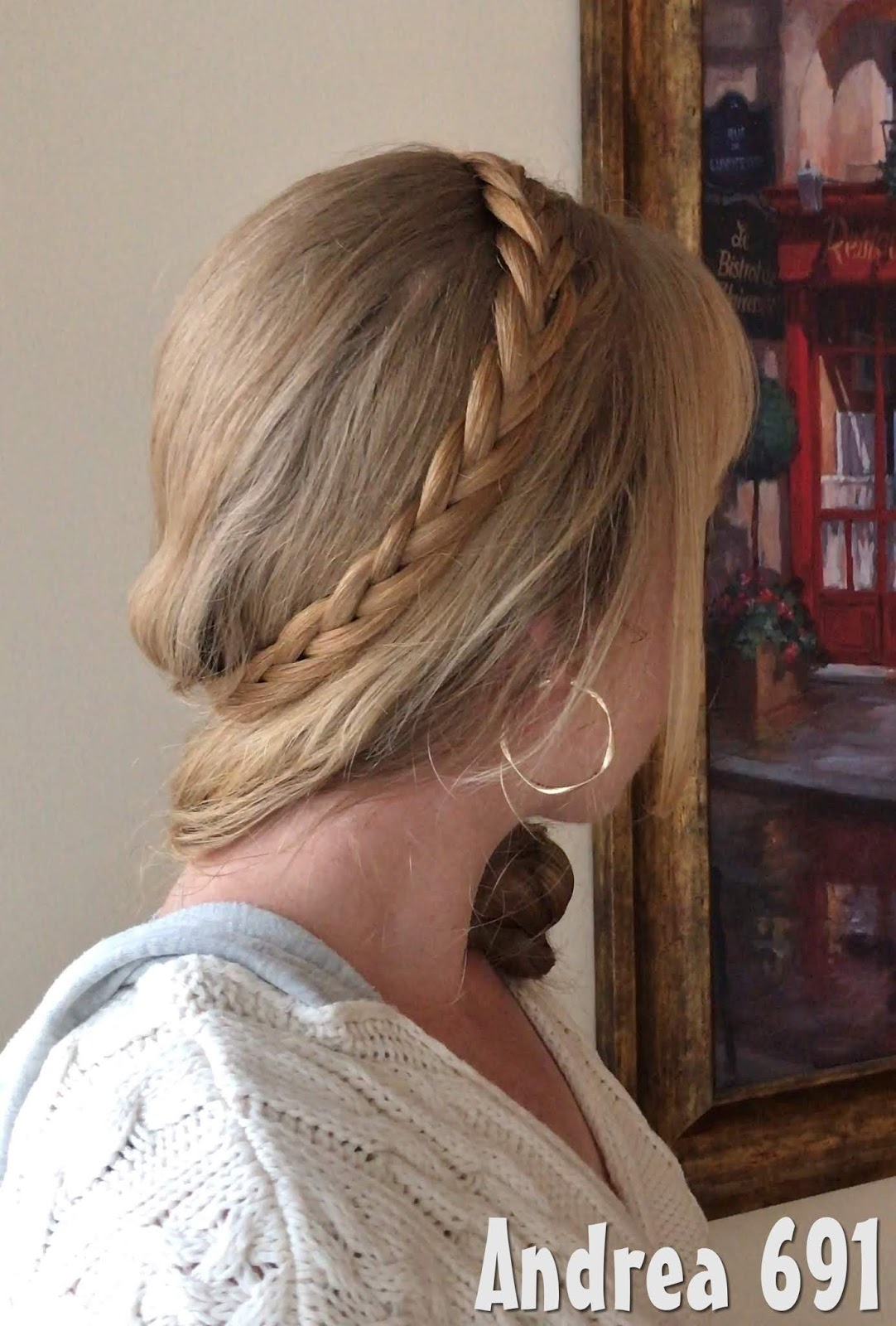 Braids Hairstyles For Super Long Hair Simple Braided Hairstyle