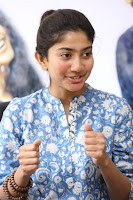 Sai Pallavi looks super cute in plain dress at her interview in Telugu about movie Fidaa ~ Exclusive Celebrities Galleries 025.JPG