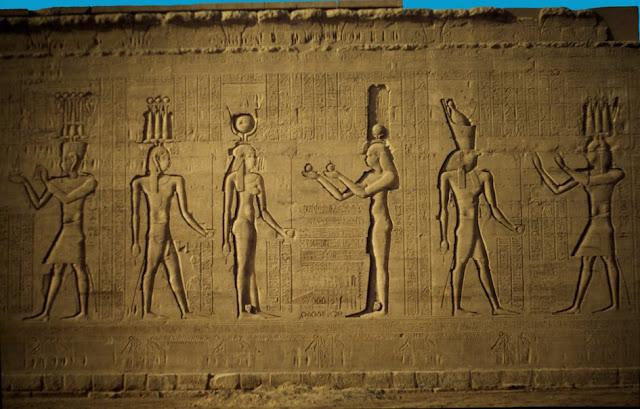 Egipto, Templo de Edfú por El Guisante Verde Project