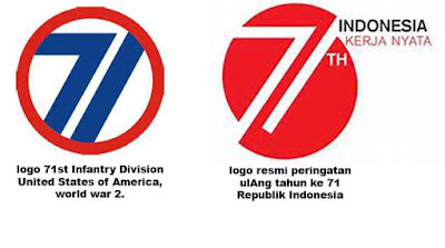 Logo Infantri AS vs Logo HUT RI