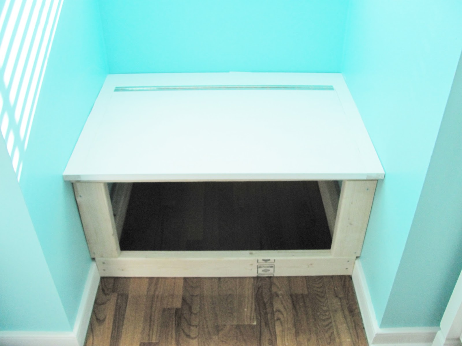 Silver Lining Decor Diy Built In Window Seat And Storage