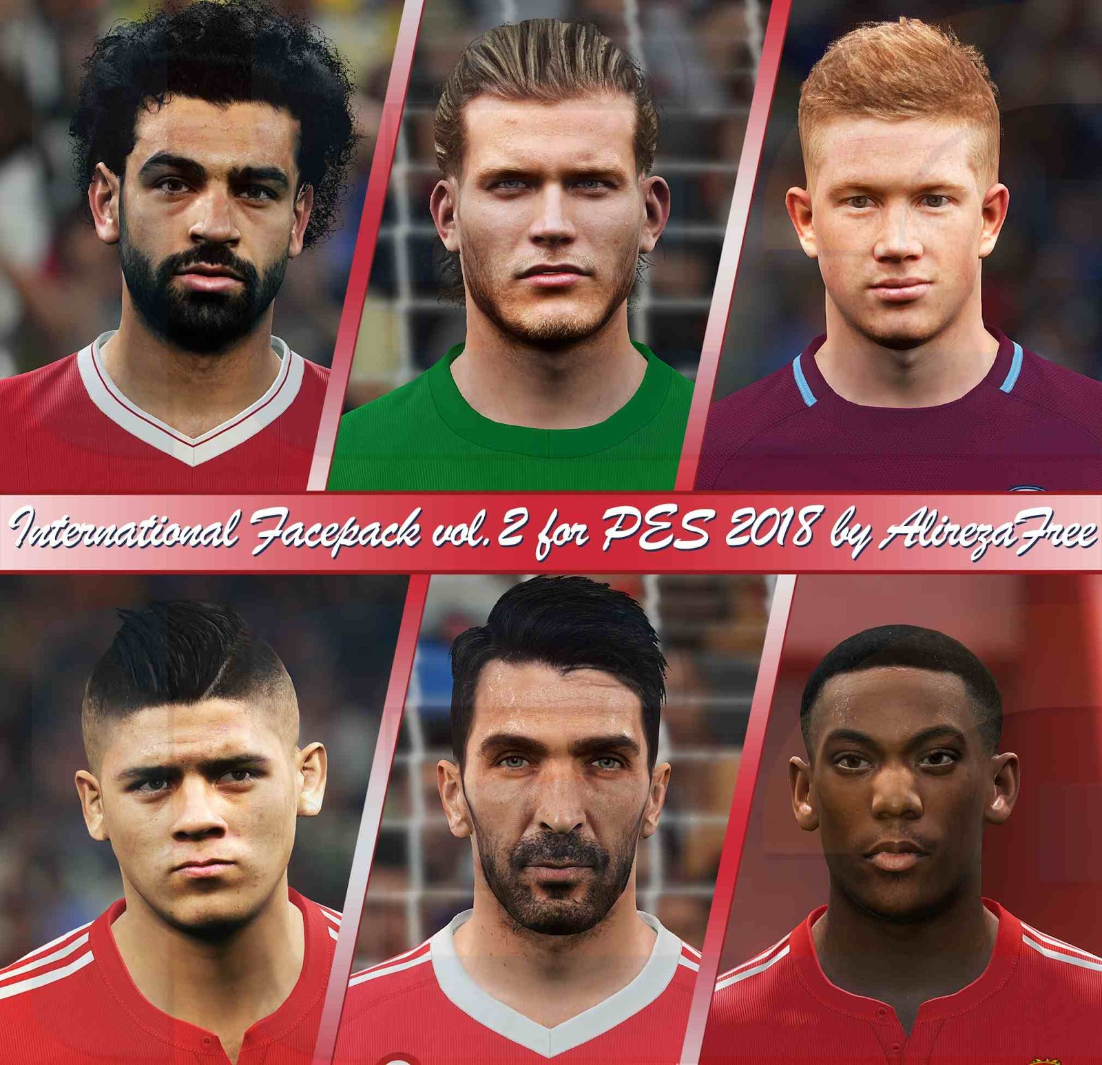 Ultigamerz Pes 2010 Pes 2011 Face: Ultigamerz: PES 2018 International Facepack 2018-19 Vol. 2
