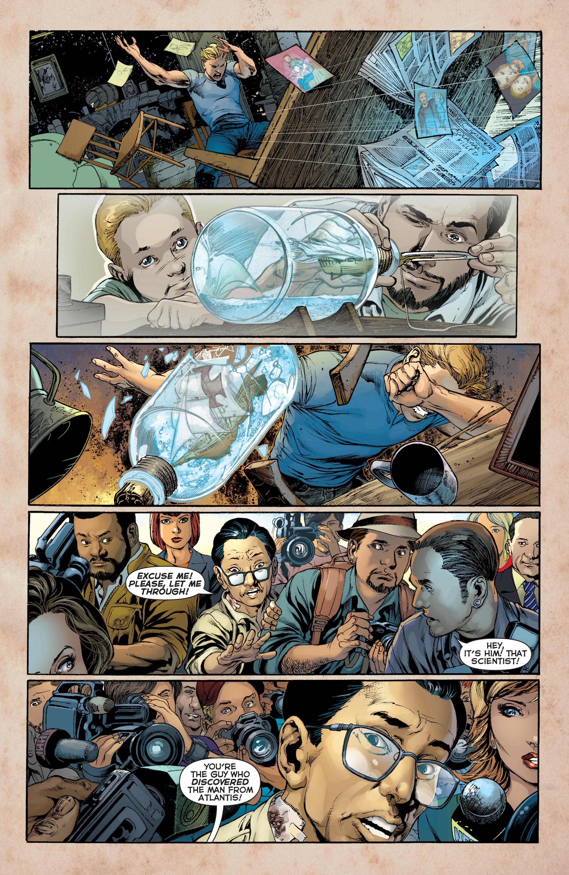 Read online Aquaman (2011) comic -  Issue #8 - 4