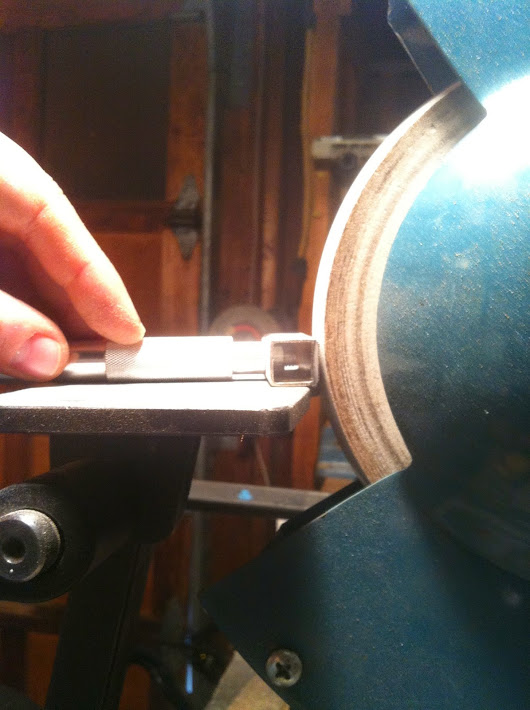 Travisher Blades: Grinding and Sharpening