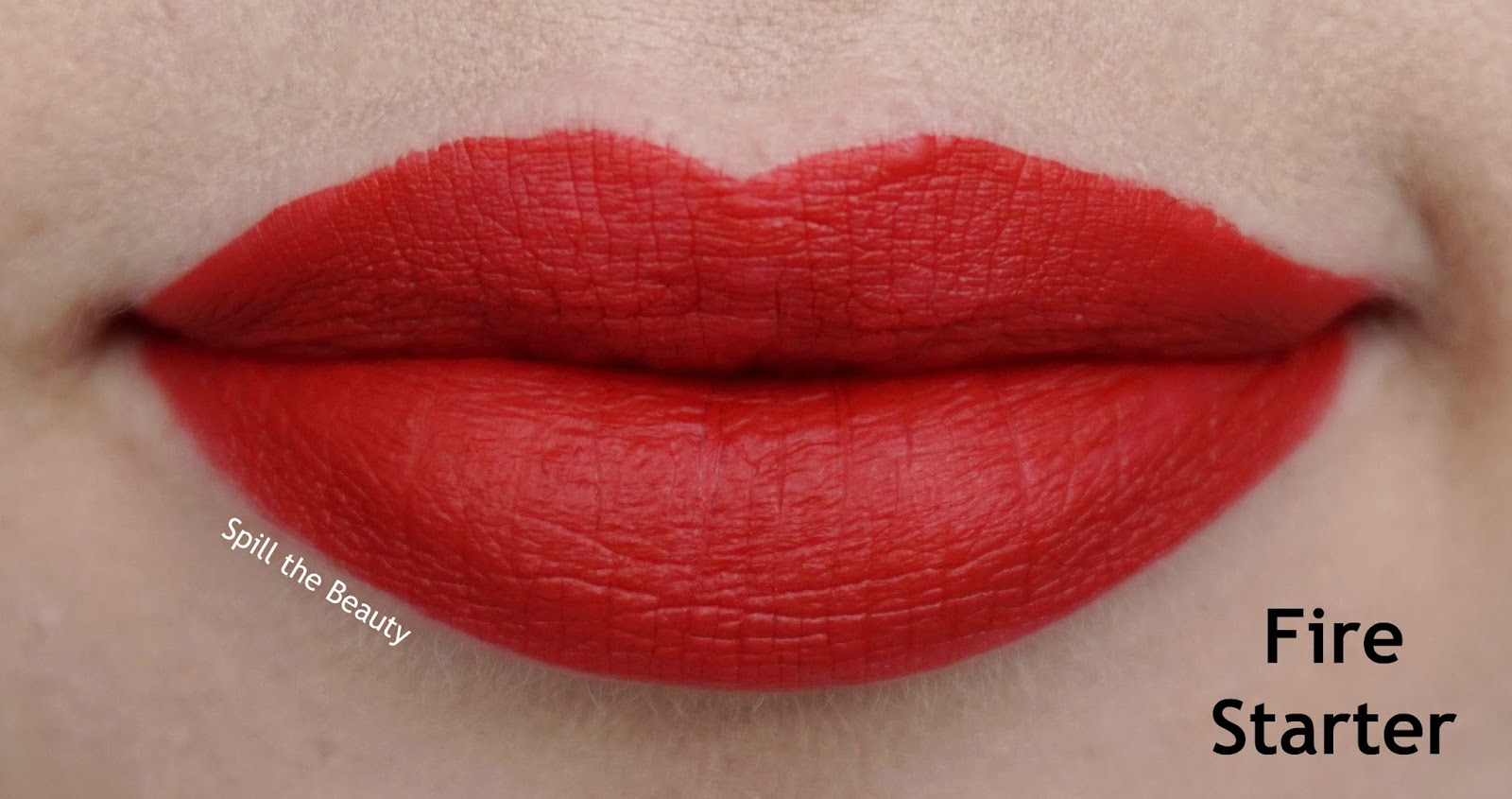 rimmel london stay matte liquid lip color review swatches 500 fire starter