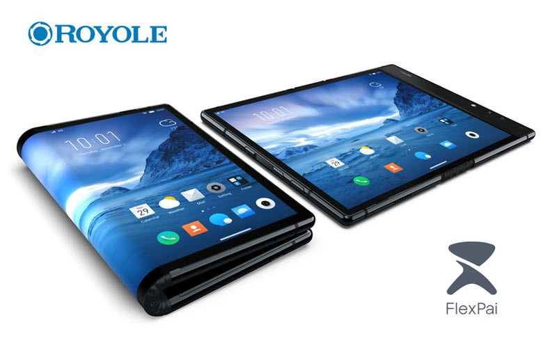 Royole FlexPai foldable smart phone