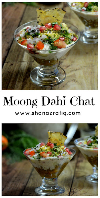 Moong dahi Chat