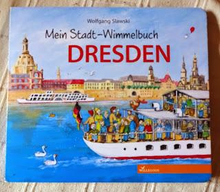 Wimmelbuch und Reiseführer ab 2 Jahre: Wolfgang Slawski - Mein Stadt-Wimmelbuch Dresden