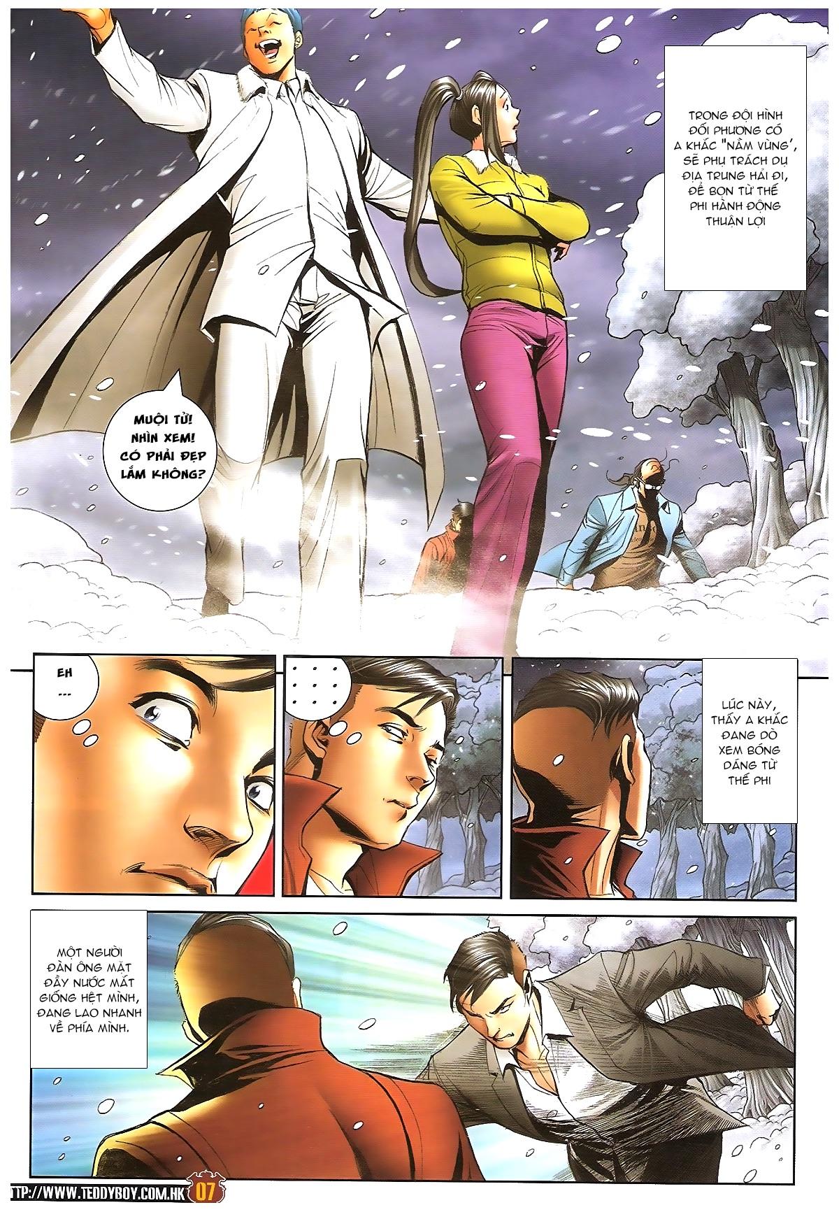 Người Trong Giang Hồ - Chapter 1613: Tuyết Địa Tranh Hùng - Pic 4